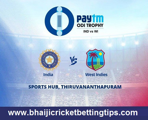 India Vs West Indies 5th Match Prediction & Betting Tips