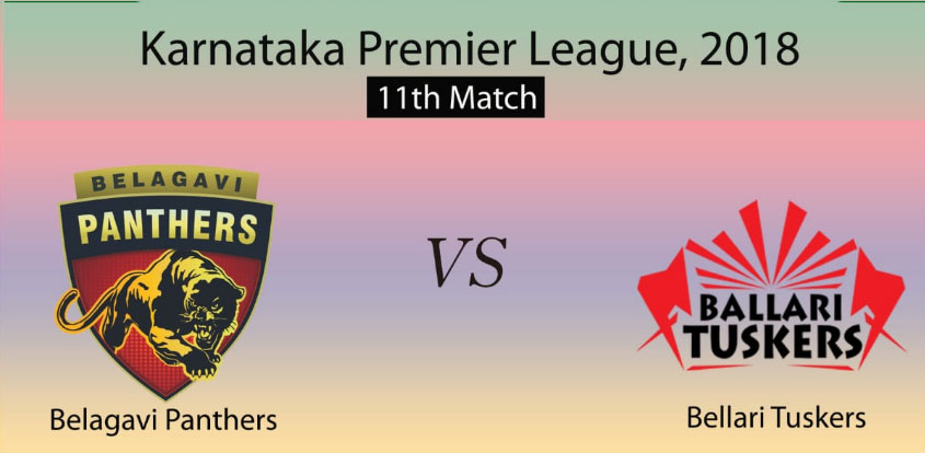 Belagavi Panthers vs Bellary Tuskers