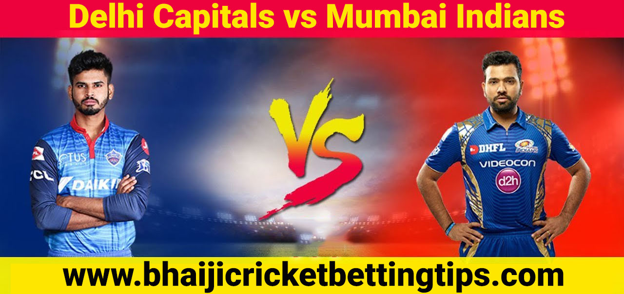 Delhi Capitals vs Mumbai Indians, 34th Match - IPL Tips