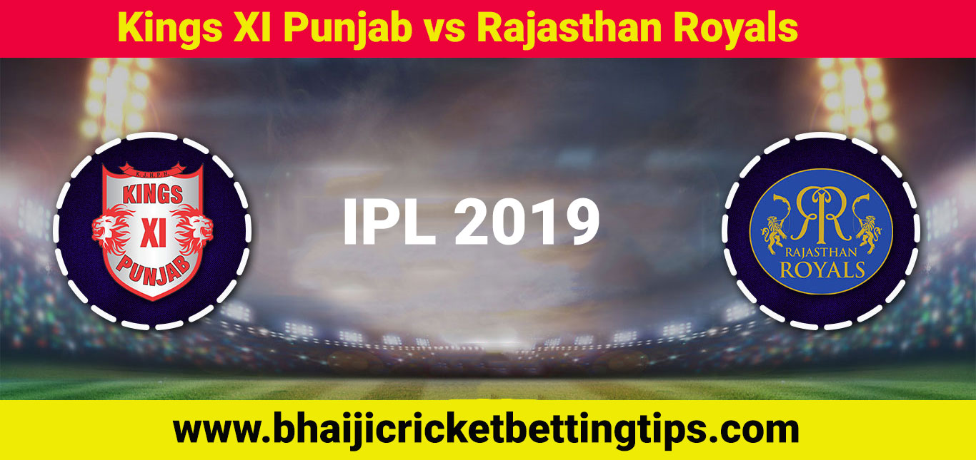 IPL Betting Tips - 32nd Match - KXIP vs RR