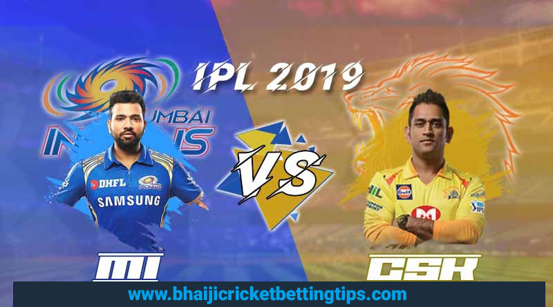 MI vs CSK - Final Match - IPL Betting Tips