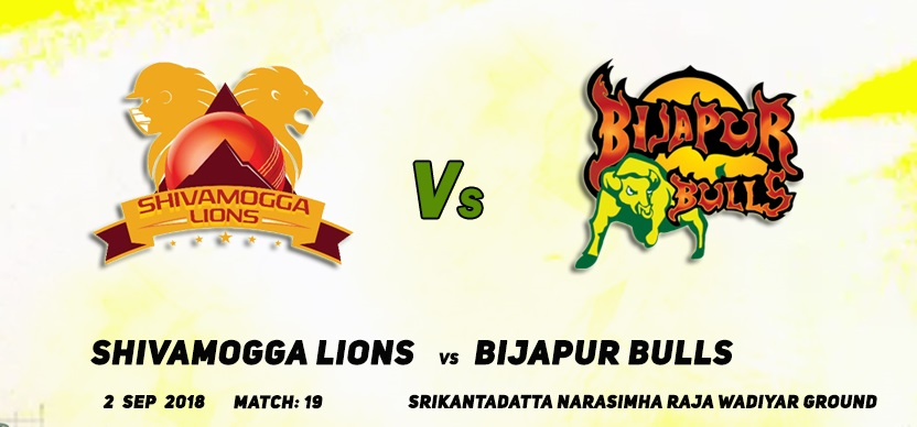 Shivamogga Lions vs Bijapur Bulls, 19th Match