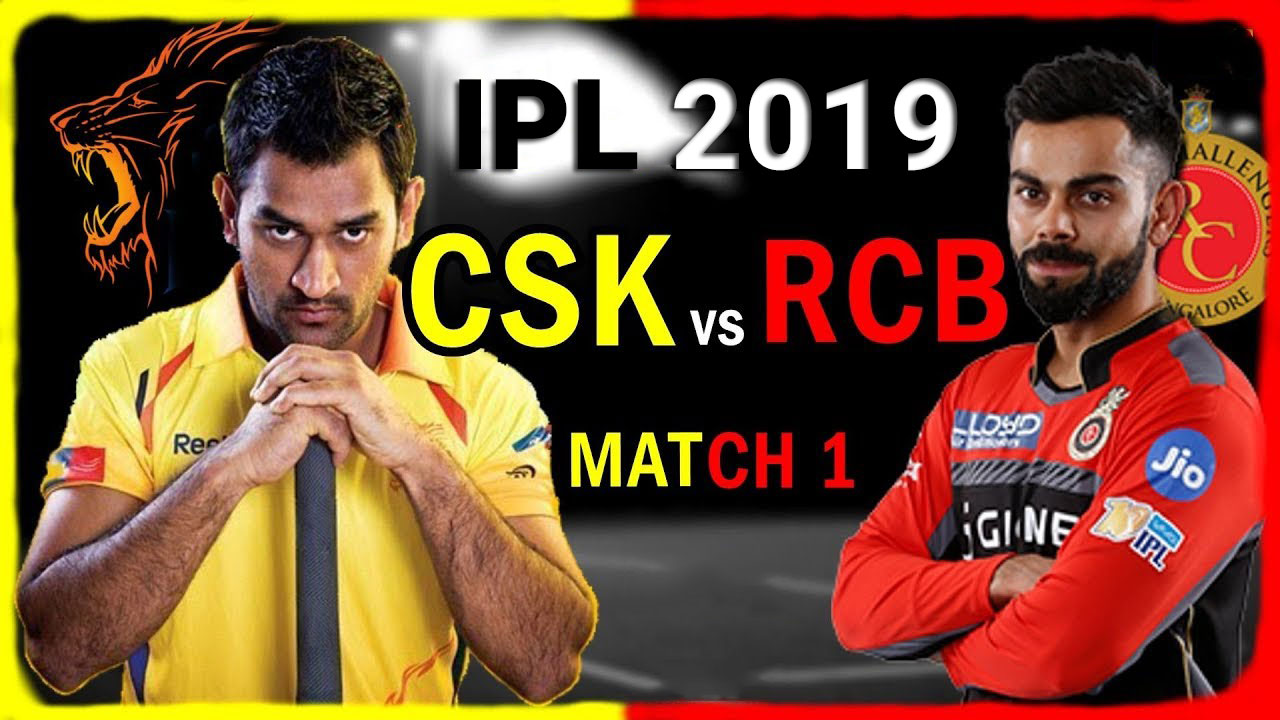 Chennai Super Kings vs Royal Challengers Bangalore, 1st Match