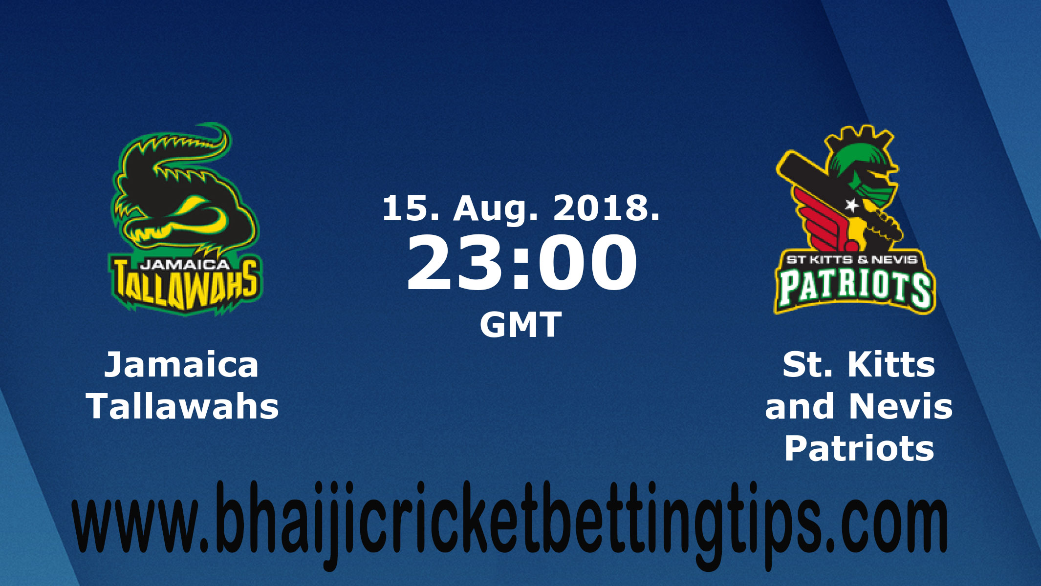 Jamaica Tallawahs vs St Kitts & Nevis Patriots 8th T20 Match