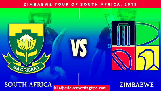South Africa vs Zimbabwe, 1st T20 Match Prediction