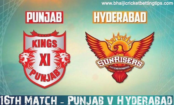 Kings Xi Punjab Vs Sunrisers Hyderabad