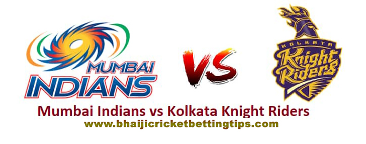 Kolkata Knight Riders vs Mumbai Indians, 41st Match
