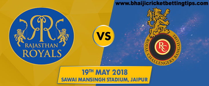 Rajasthan Royals vs Royal Challengers Bangalore, 53rd Match