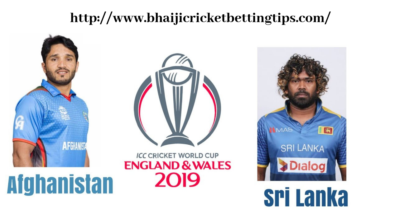 Afghanistan vs Sri Lanka 7th Match - Cricket World Cup Betting Tips