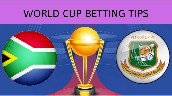 Free Cricket World Cup Betting Tips - South Africa Vs Bangladesh, 5th Match