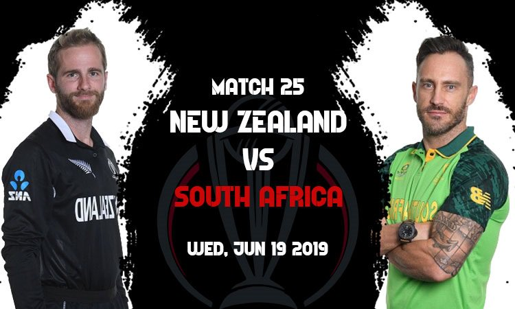 New Zealand vs South Africa 25th Match - Free World Cup Betting Tips