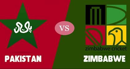 PAKISTAN vs ZIMBABWE 2nd ODI