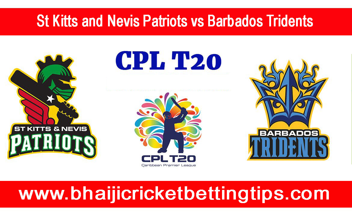 St Kitts and Nevis Patriots vs Barbados Tridents, 26th Match