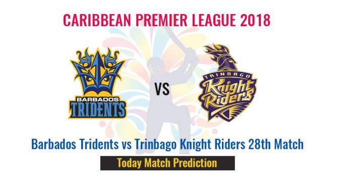 Trinbago Knight Riders vs Barbados Tridents at CPL
