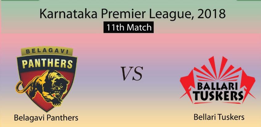 Belagavi Panthers vs Bellary Tuskers