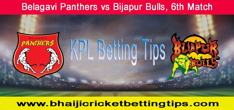 Belagavi Panthers vs Bijapur Bulls, 6th Match
