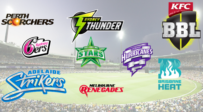Big Bash League 2019-20 Players, Details, Schedule & Team News | BBL Betting tips
