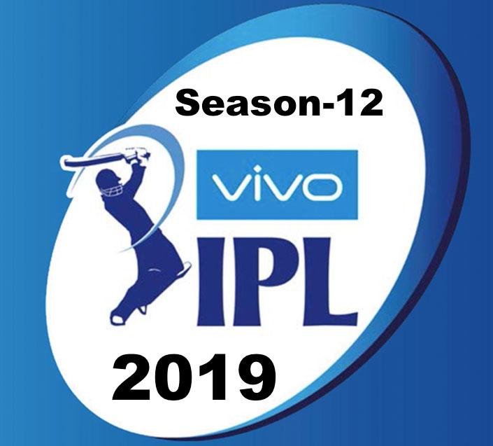 VIVO IPL 2019 Schedule