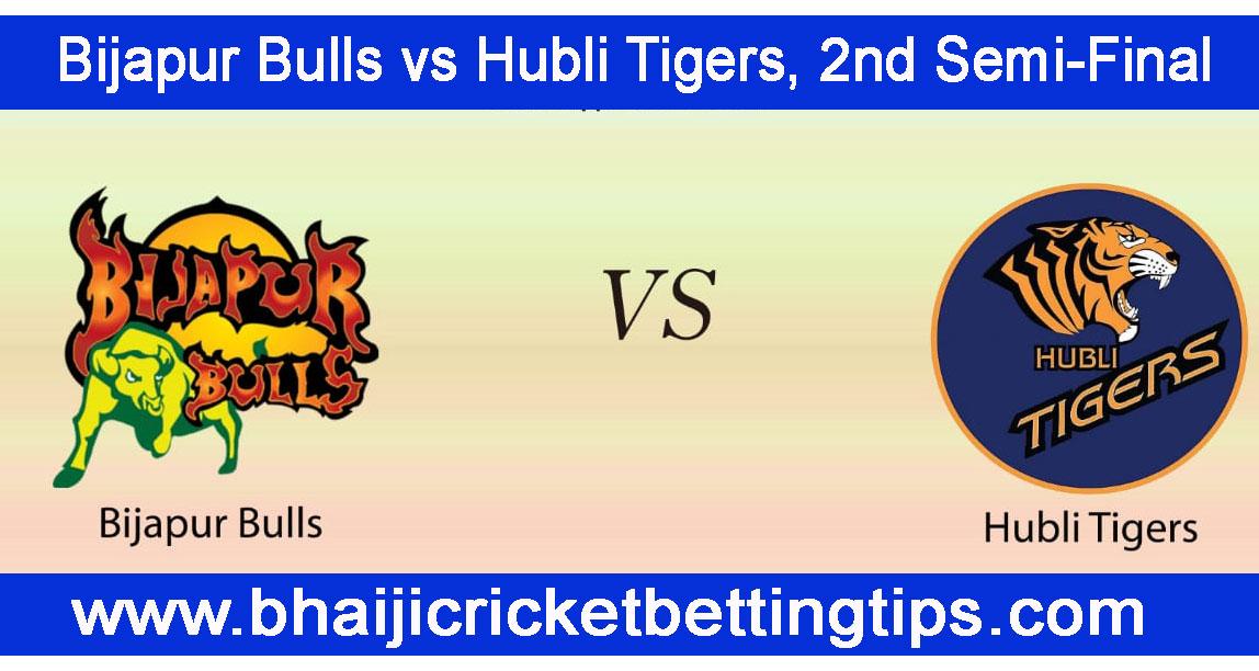 Hubli Tigers vs Bijapur Bulls, 2nd Semi-Final