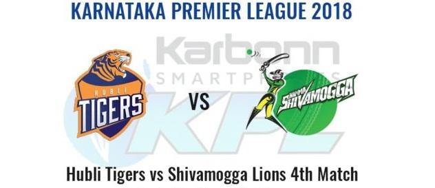 Hubli Tigers vs Shivamogga Lions, 4th Match