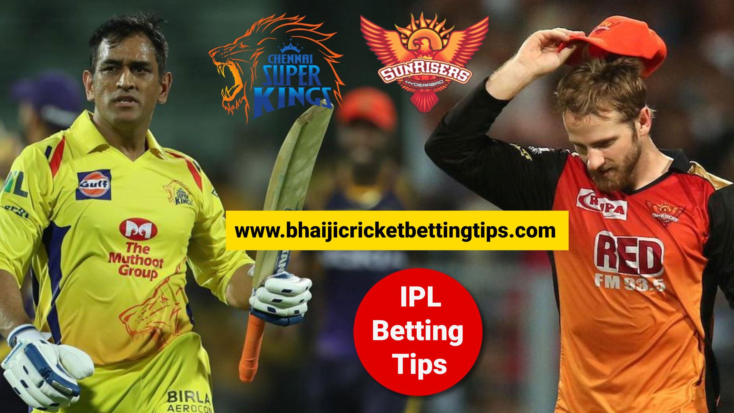 Cricket Betting Tips - Match 33 - SRH vs CSK