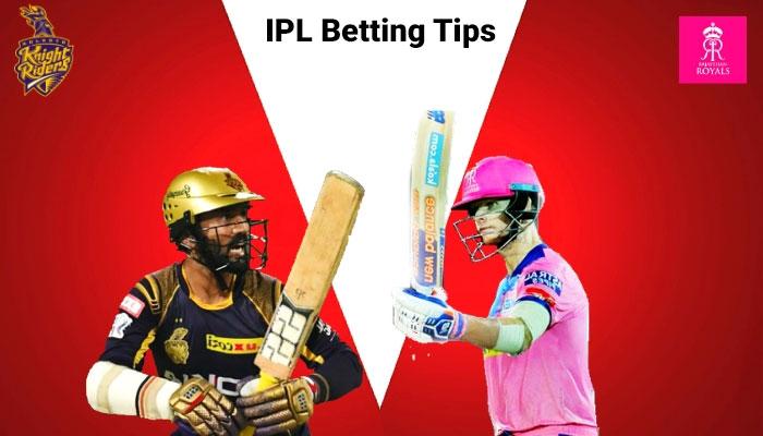 KKR vs RR - 43th Match - IPL Betting Tips