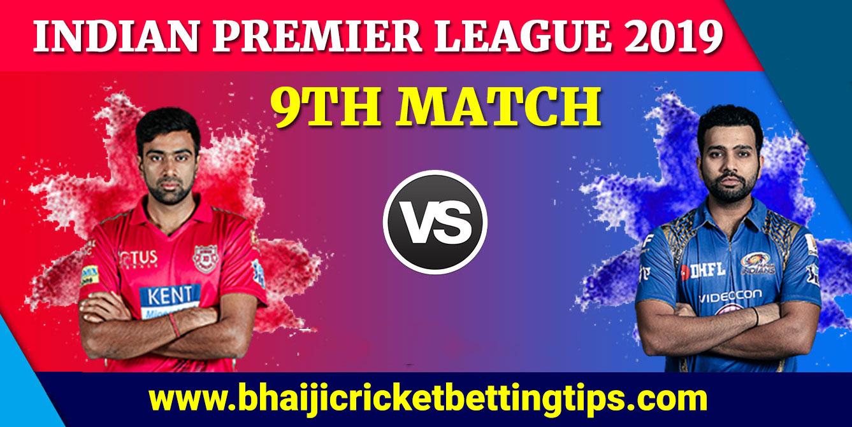 CBTF - 9th Match - KINGS XI PUNJAB VS MUMBAI INDIANS