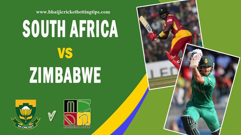 South Africa vs Zimbabwe, 3rd ODI Match Prediction