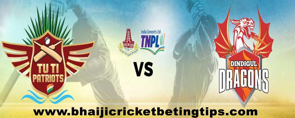 TUTI Patriots vs Dindigul Dragons, 14th Match