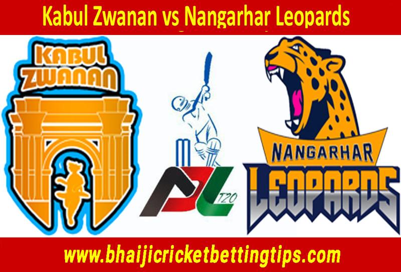 Kabul Zwanan vs Nangarhar Leopards - Afghanistan Premier League 2018