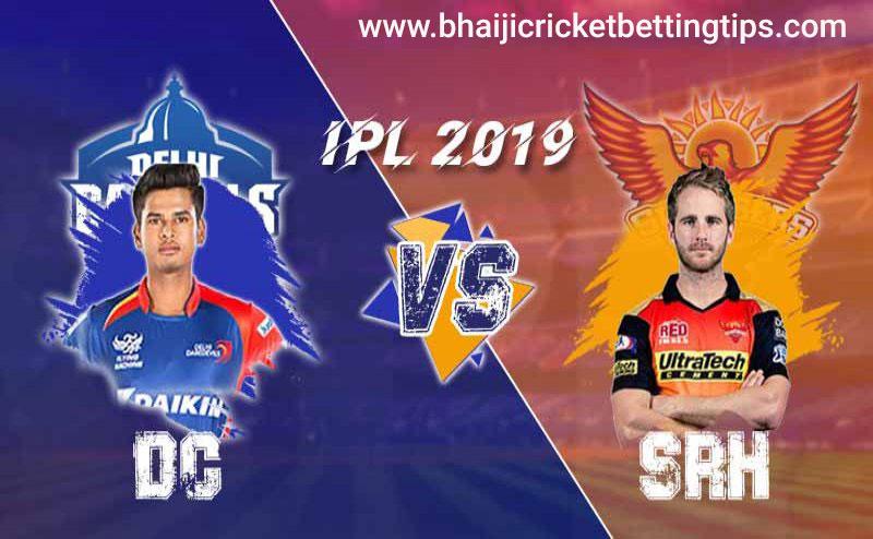 IPL 2019: Match 16 - Delhi Capitals vs Sunrisers Hyderabad