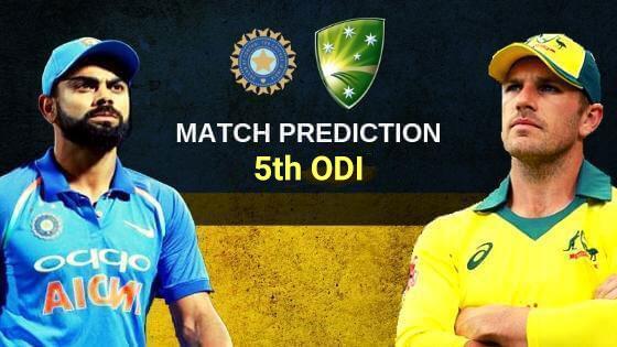 India vs. Australia, 5th ODI  - CBTF