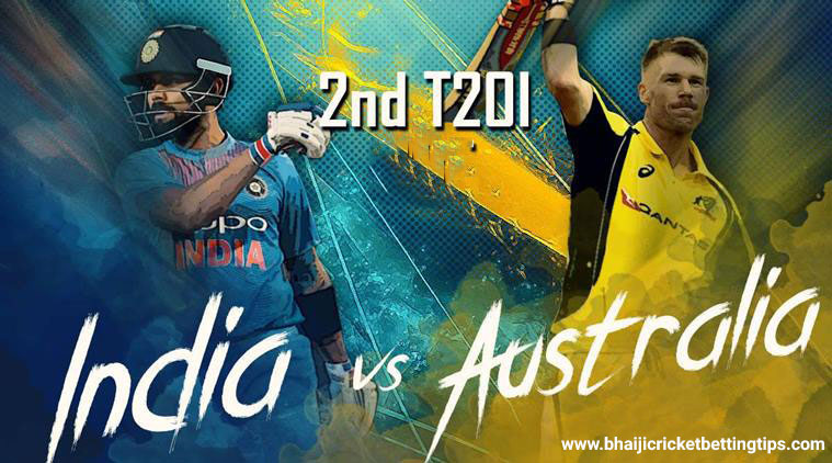 India vs Australia, 2nd T20I - Cricket Betting Tips
