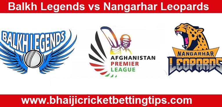 Balkh Legends vs Nangarhar Leopards  Match Prediction