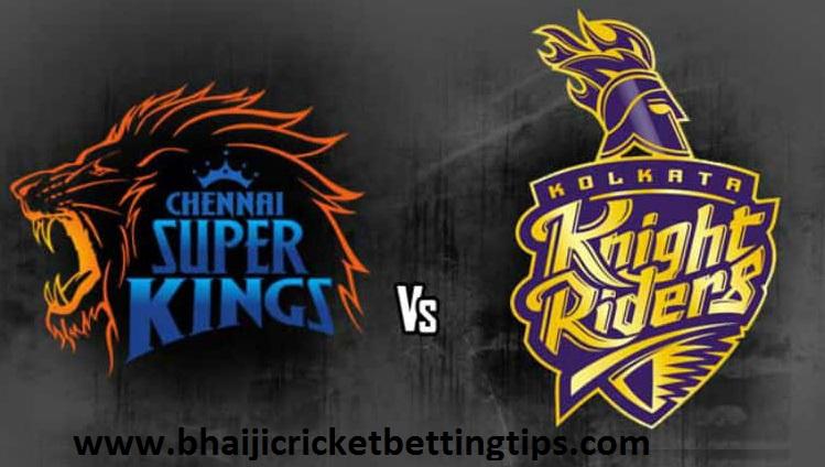Kolkata Knight Riders Vs Chennai Super Kings