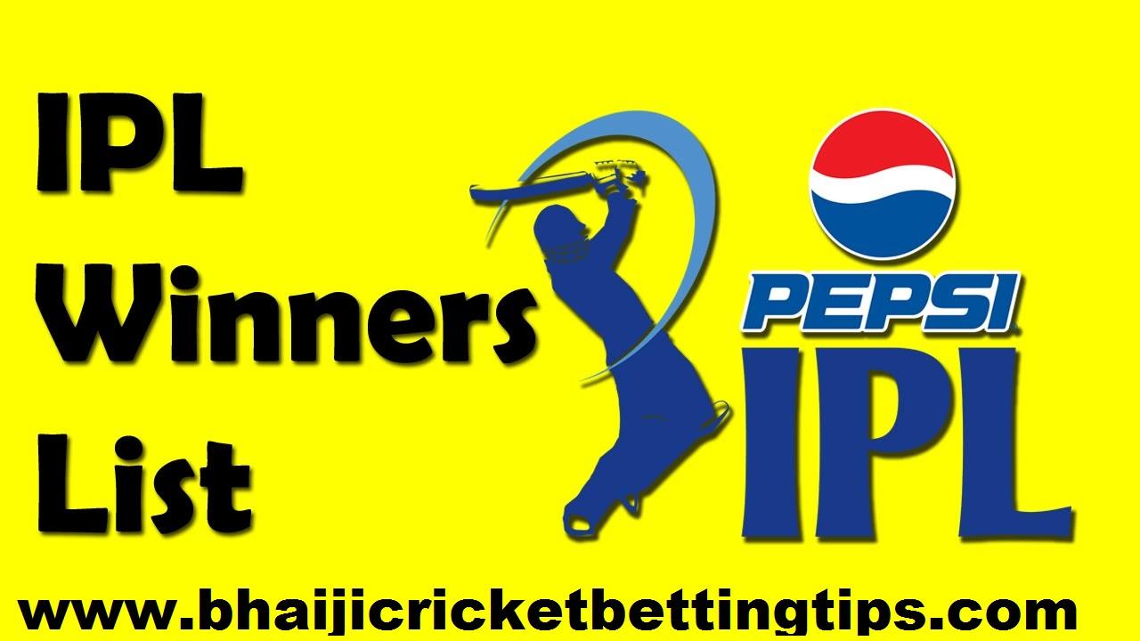 IPL Full History & betting tips
