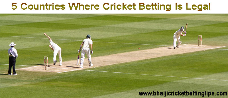 Cricket Betting Is Legal