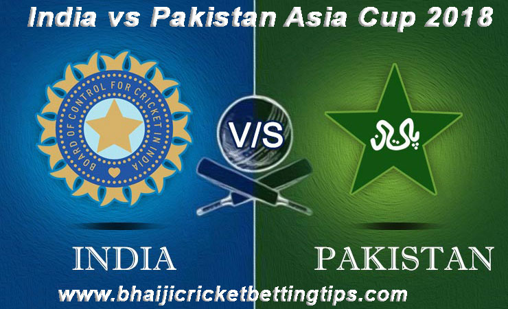 India vs Pakistan Match Prediction - Asia Cup 2018