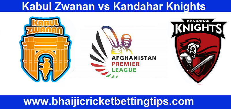 Kabul Zwanan vs Kandahar Knights Betting Tips