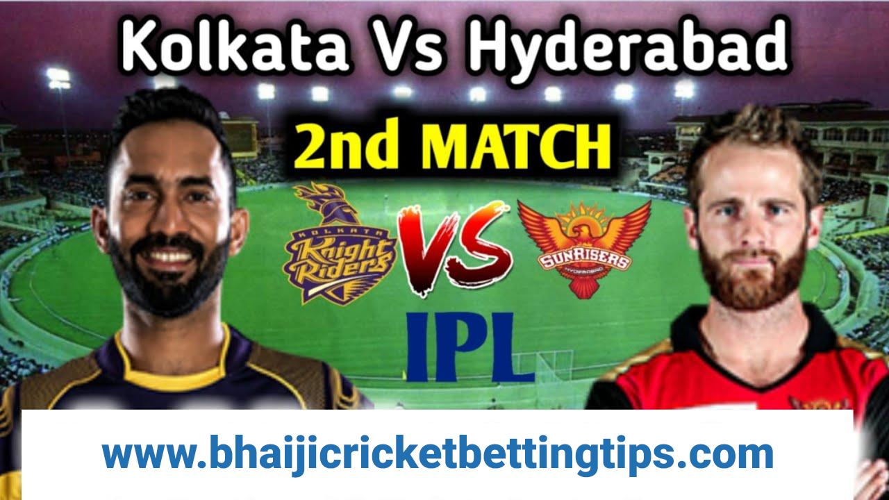 KKR vs SRH 2nd Match Prediction & Free IPL Betting Tips