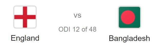 ENGLAND VS BANGLADESH 12TH MATCH - World Cup Betting Tips