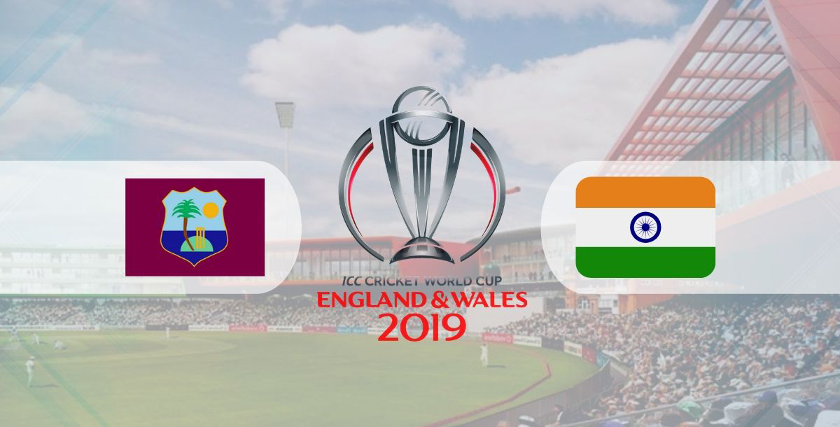 West Indies vs India, Match 34 - ICC World Cup 2019 Betting Tips